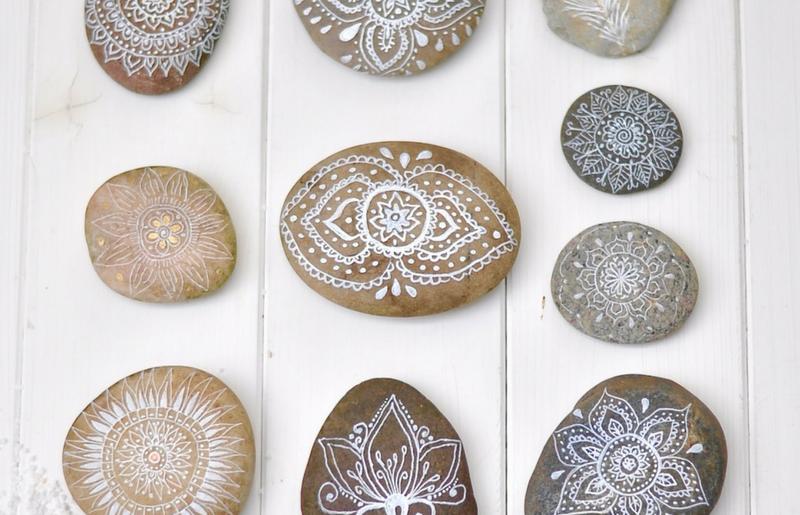 Ferien in Dänemark und feine Mandalas auf Steine malen