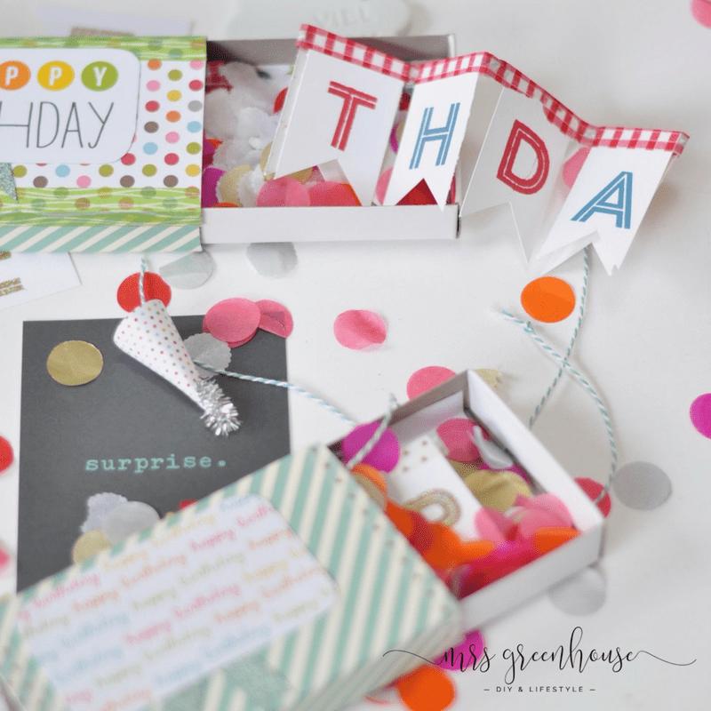 Surprise box zum Geburtstag