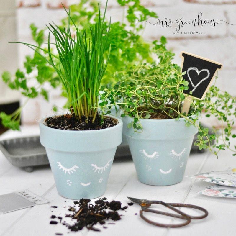 DIY Kräutertöpfe - Frühling in der Küche, ein einfaches Upcycling ...