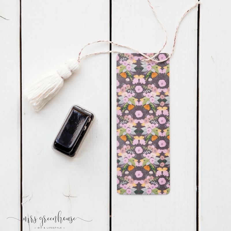 DIY - Lesezeichen mit Tassel selbstgemacht
