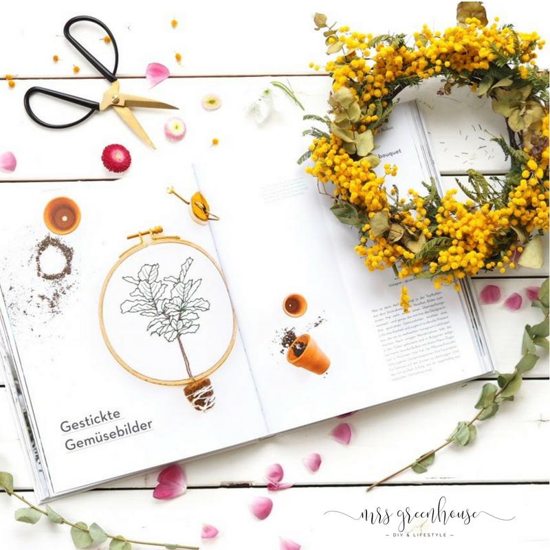 Mimosenkranz und Flower Ladies