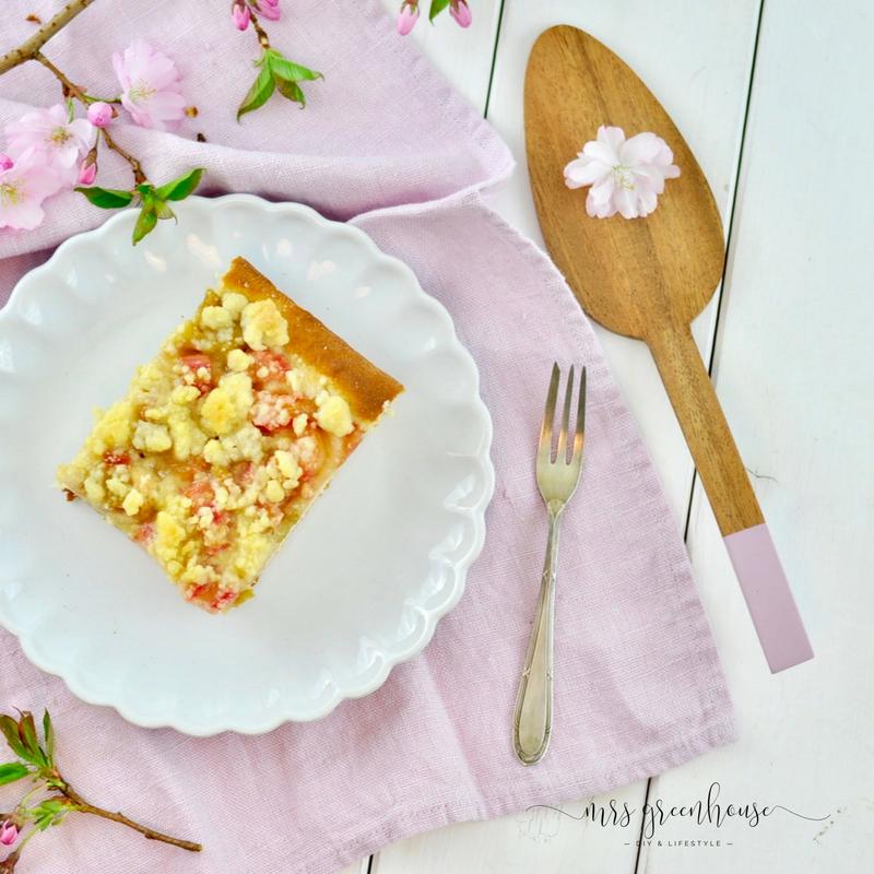 Rhabarberkuchen mit Streuseln - mein Lieblingsrezept