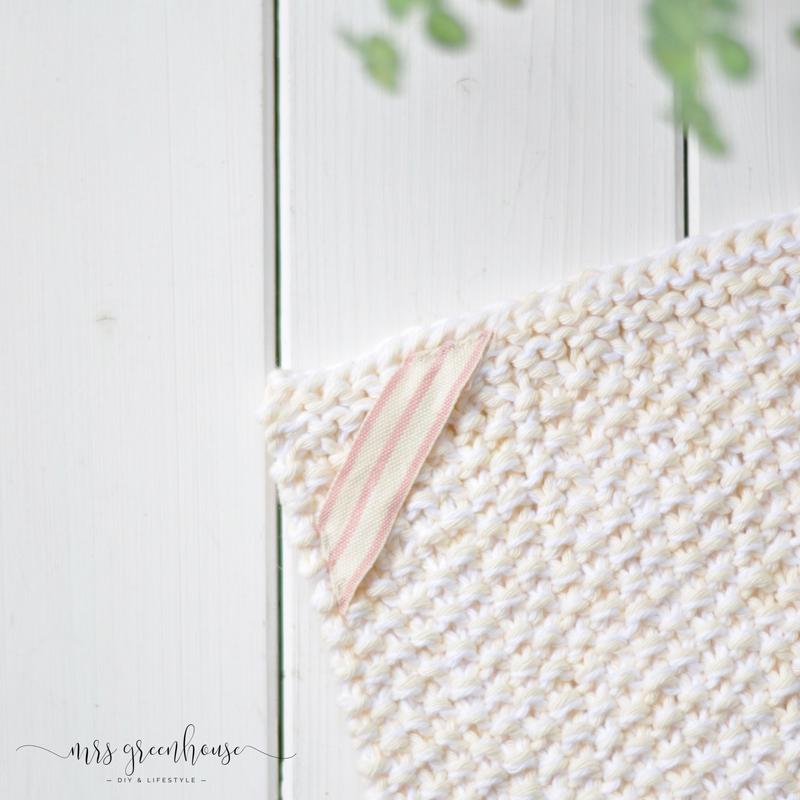 Gestrickte Waschtücher - ein DIY zum Muttertag