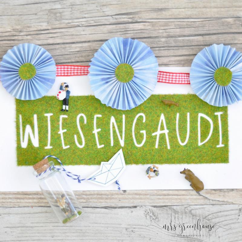Wiesengaudi in the Bottle - das Oktoberfest DIY
