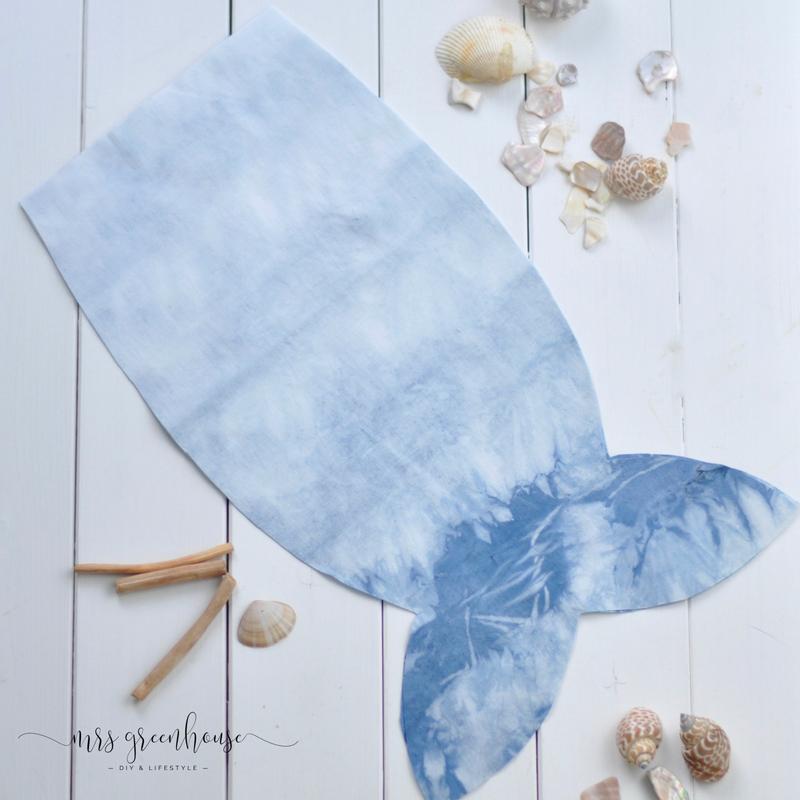 DIY Fisch-Wäschebeutel für die Sommerferien