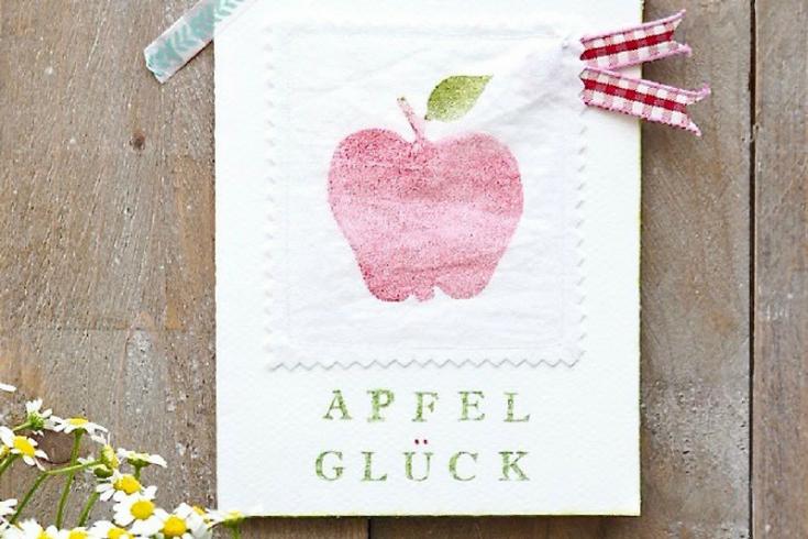 Ein Apfelglück zum Blind-Date
