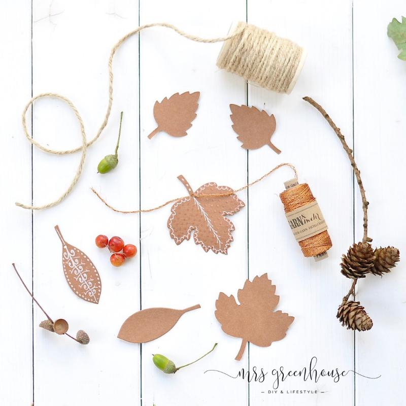 Herbstblätter zentangeln