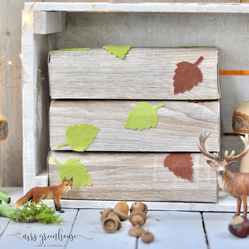 Woodland-Fühlboxen für das Kinderzimmer