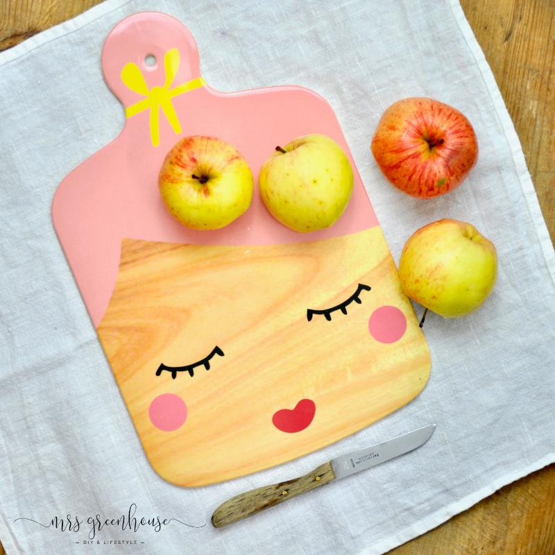 Apfel Crumble mit Wallnüssen und marmorierter Kürbis