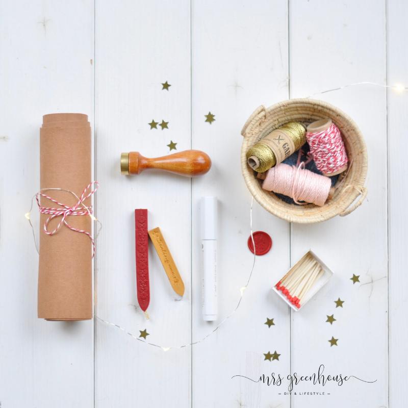 Lebkuchenhäuschen-Geschenkanhänger