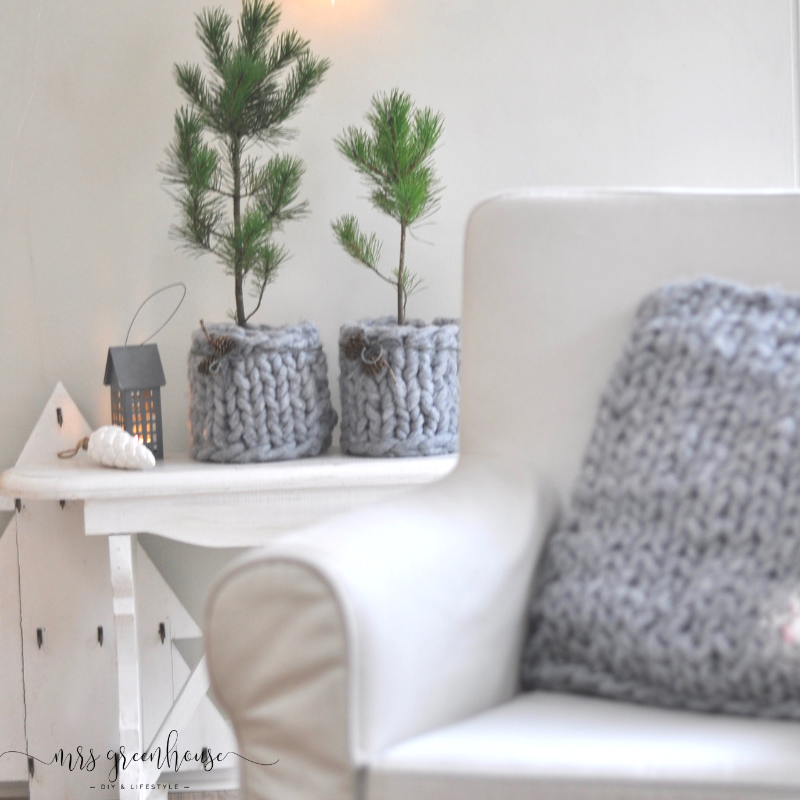 Chunky Wool - XXL-Strick für´s winterliche Wohnzimmer