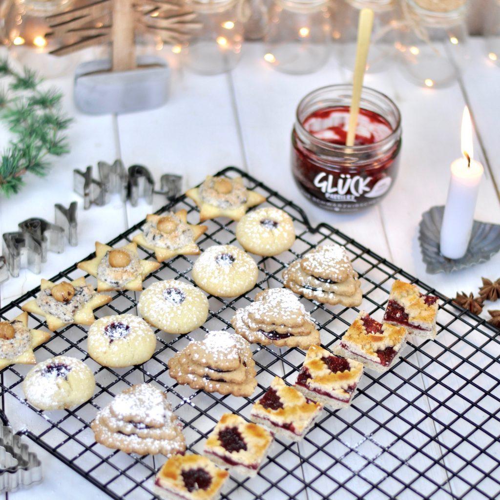 Weihnachtskekse Mit Marmeladenfüllung.Weihnachtskekse Mit Glück Marmelade Mrs Greenhouse Diy Blog Mit