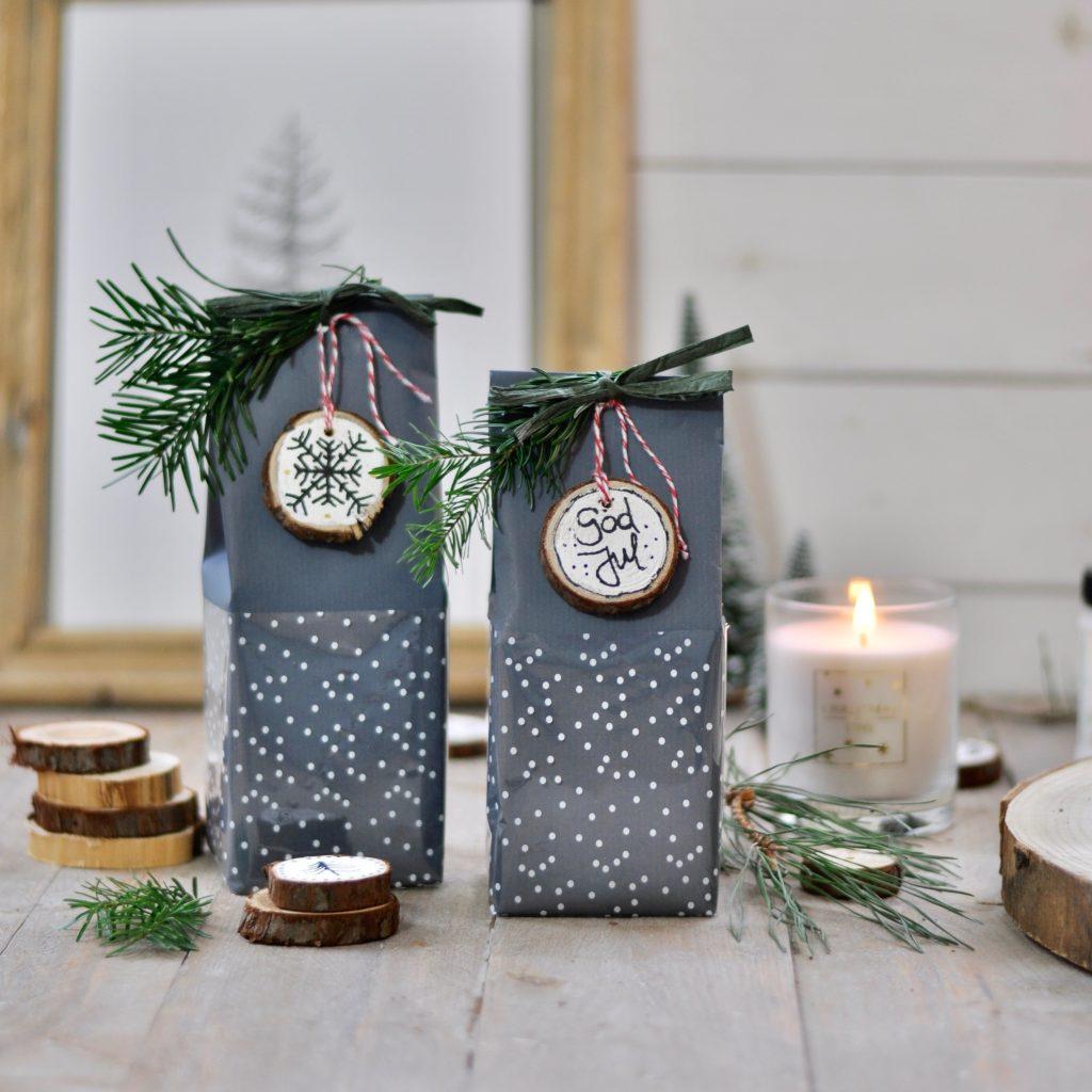 Waldweihnachten Tischdekoration