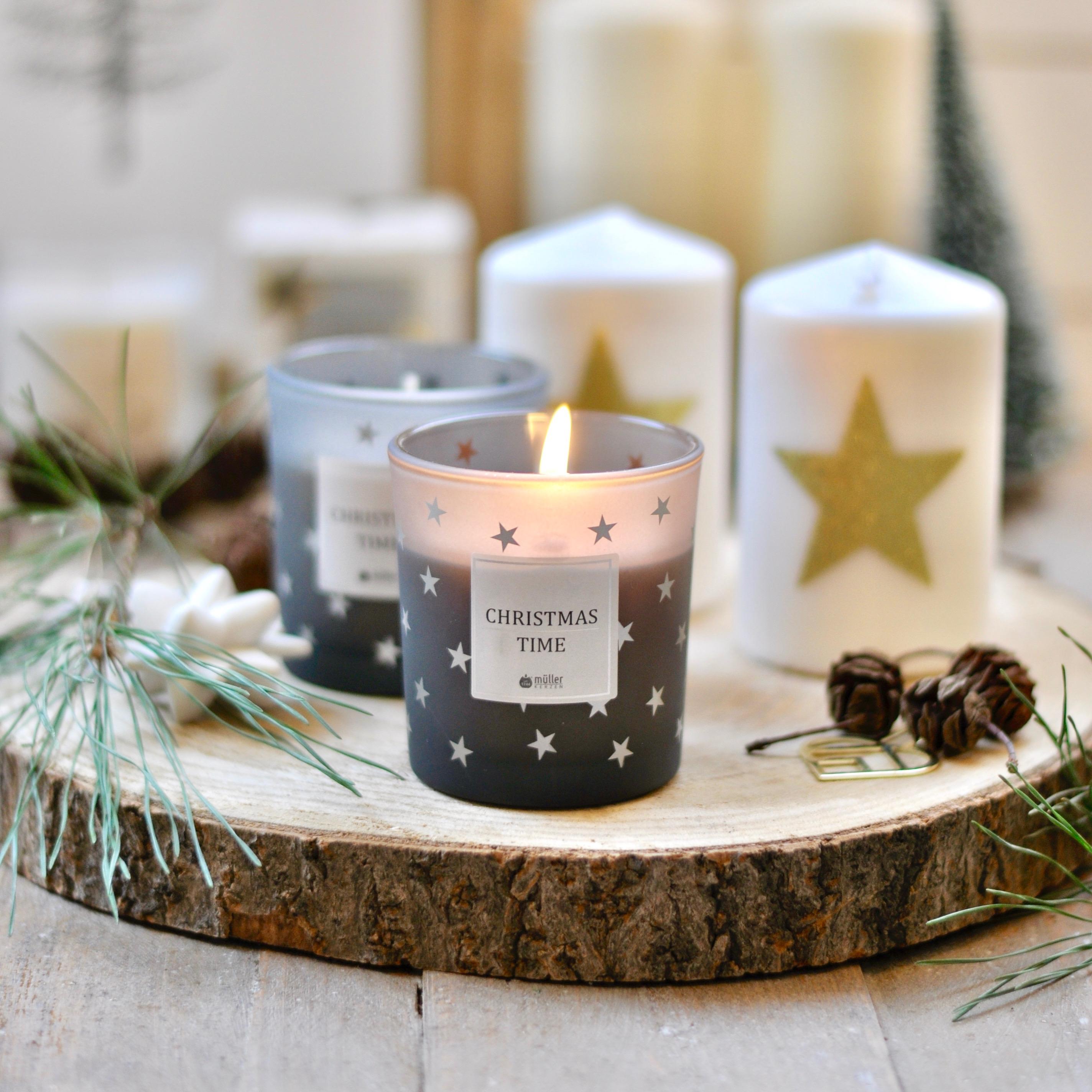 Waldweihnachten Tischdekoration Mit Muller Kerzen Mrs Greenhouse