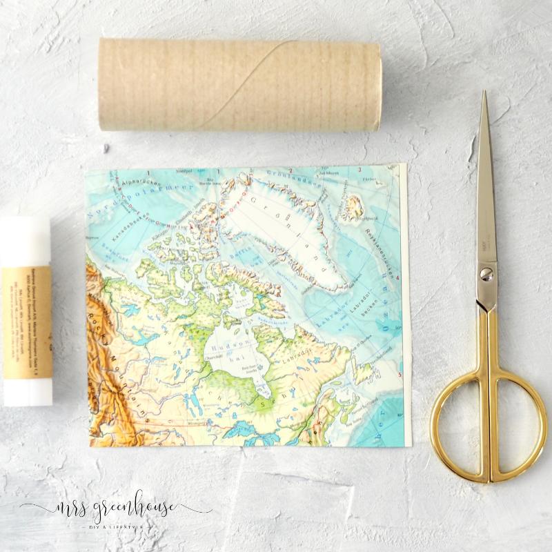 Basteln mit Landkarten