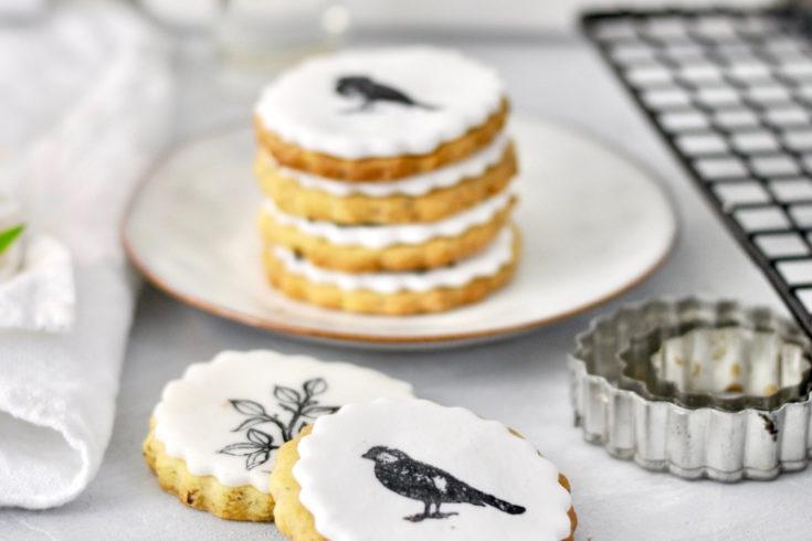 bestempelte Kekse