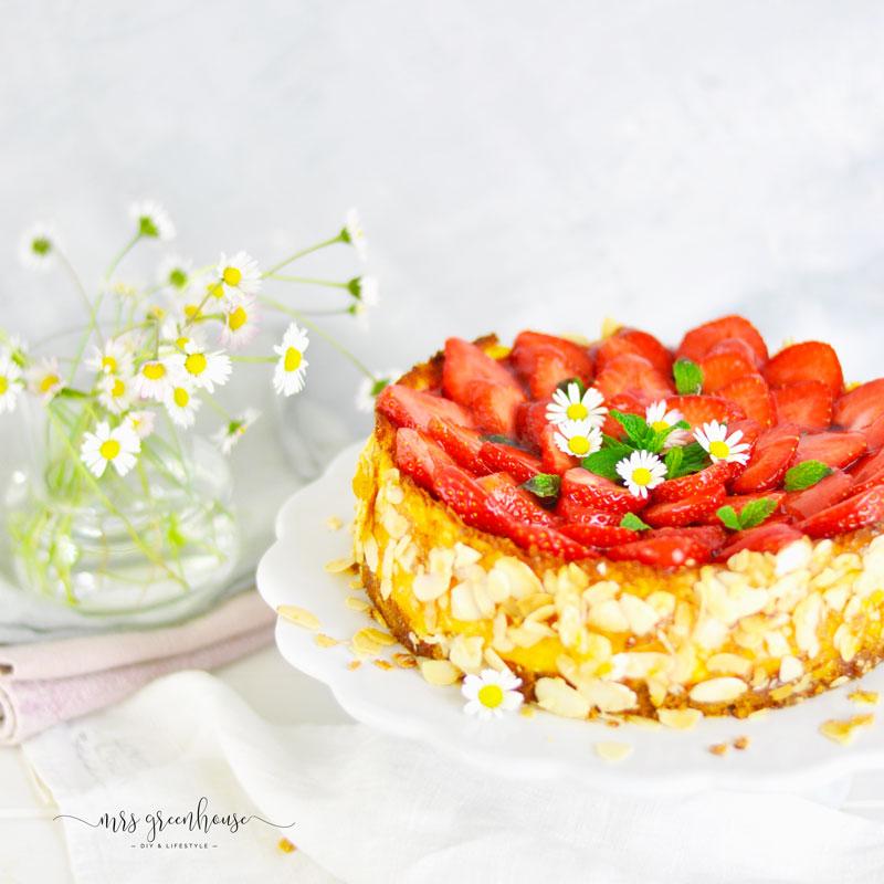 Erdbeer Käsekuchen