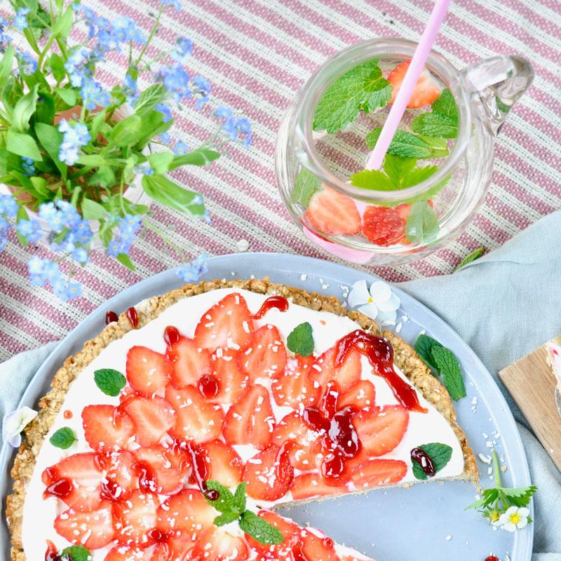 Pflück dein Glück - mit Frühstückspizza und Tipps zur Erdbeerernte