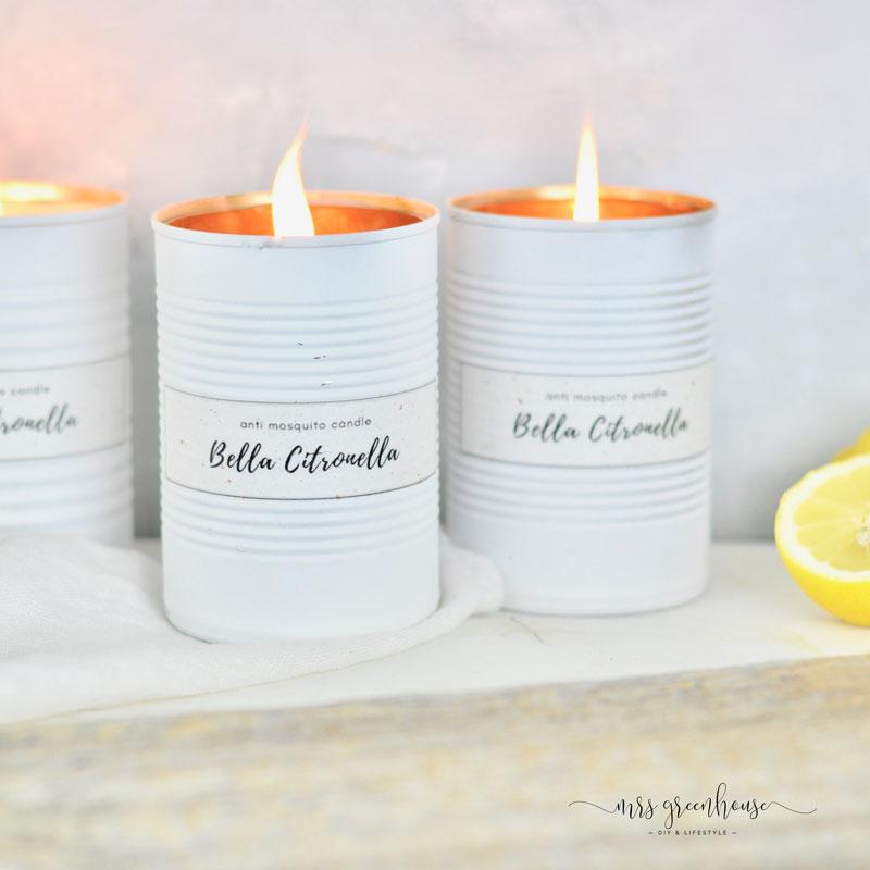 Citronella Anti Mücken Kerze
