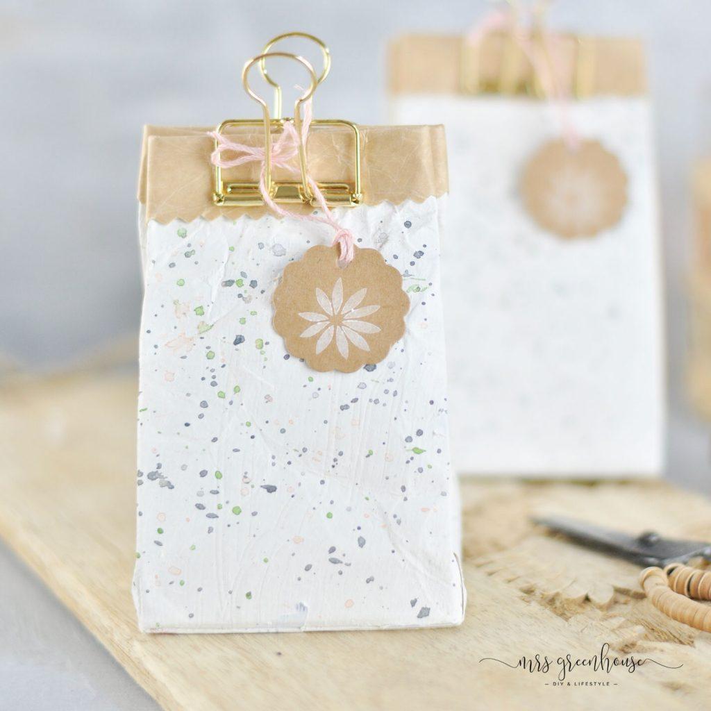 Tetrapack als Geschenkverpackung DIY