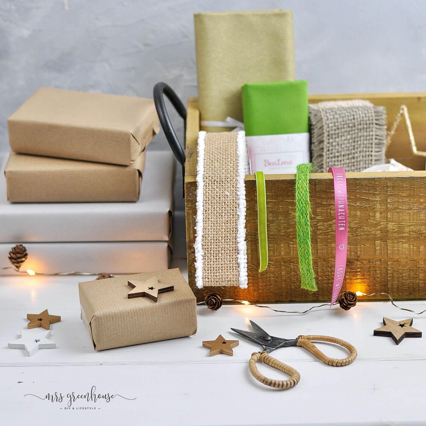 Bänder für geschenkverpackung
