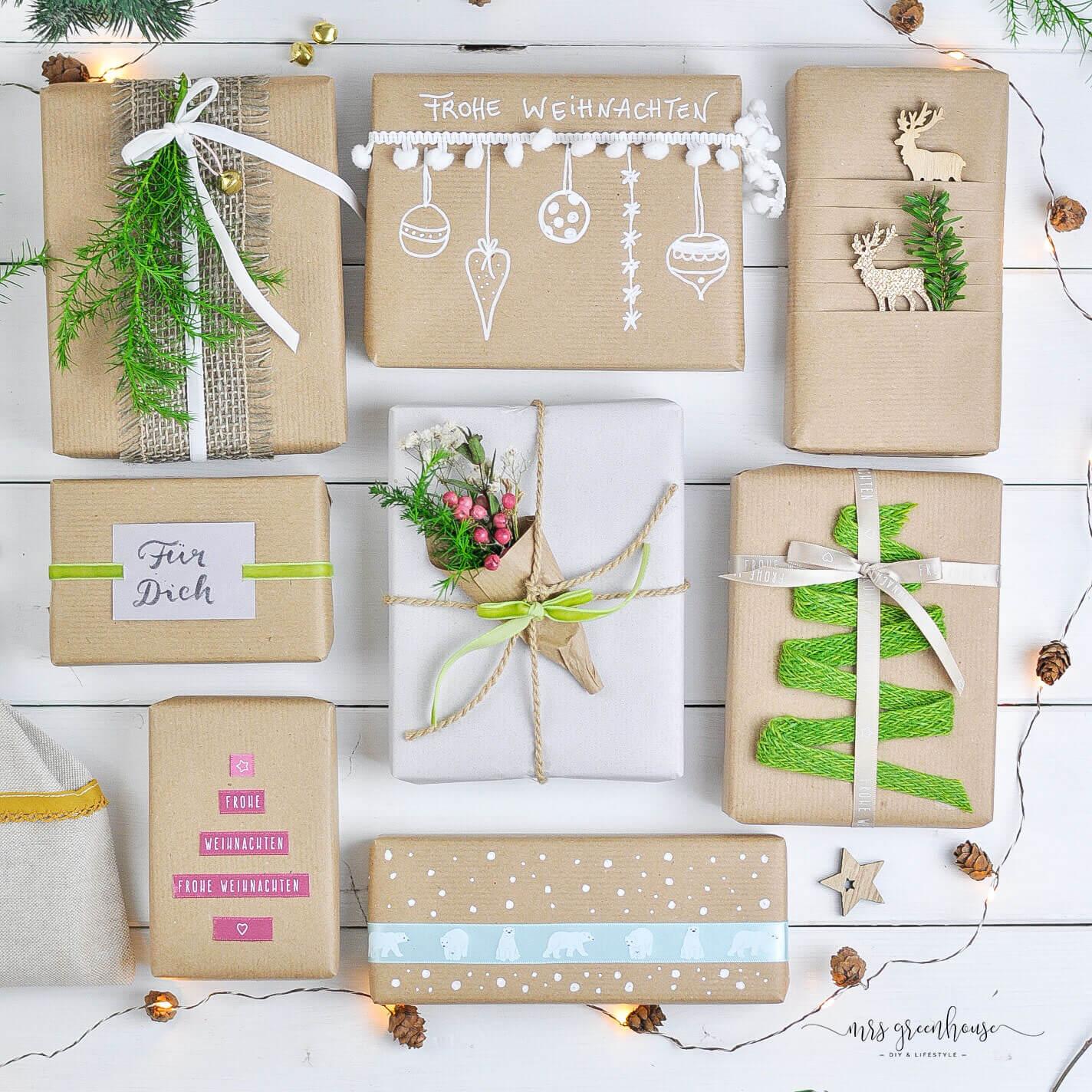 Schöne Verpackungsideen Für Weihnachtsgeschenke Mit Hotex