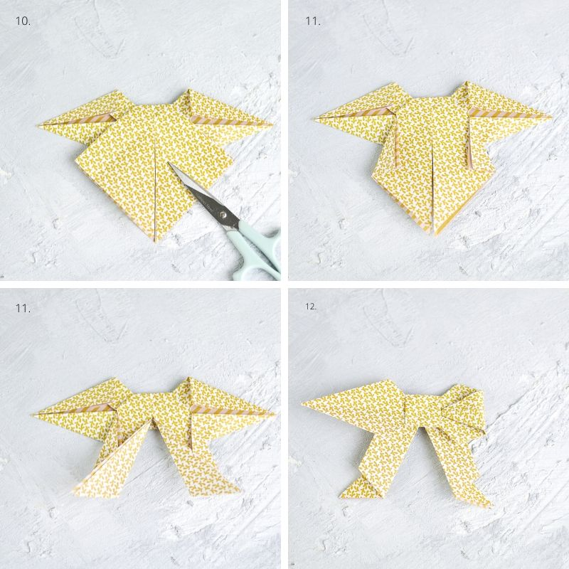 Origamischleife falten mit Anleitung mrsgreenhouse