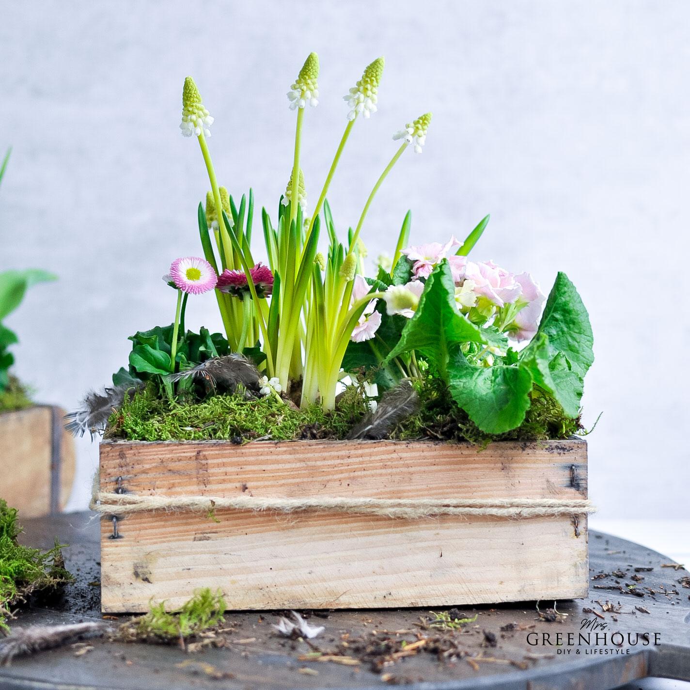 Ziegelform wasserdicht bepflanzen