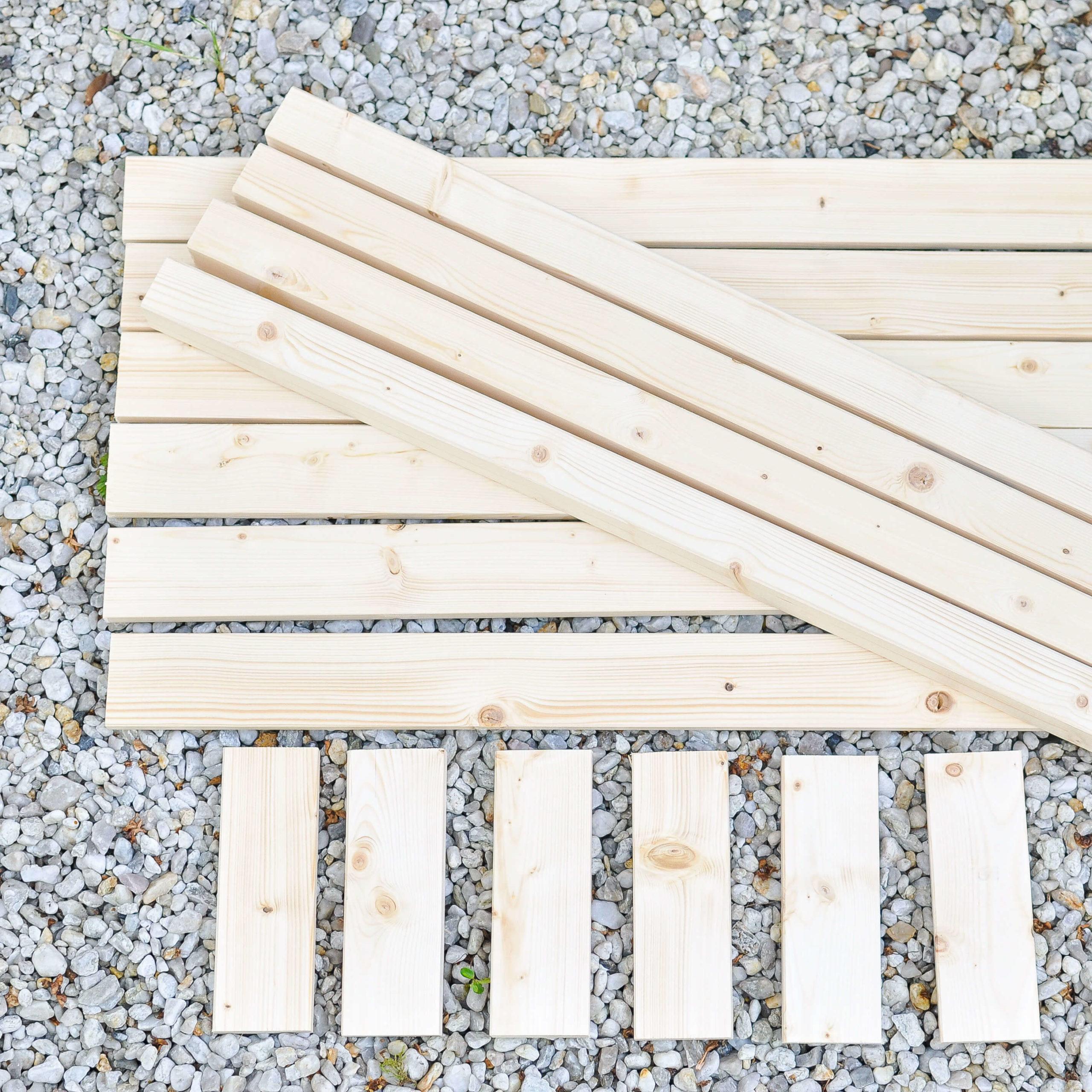 Holz für Hochbeet