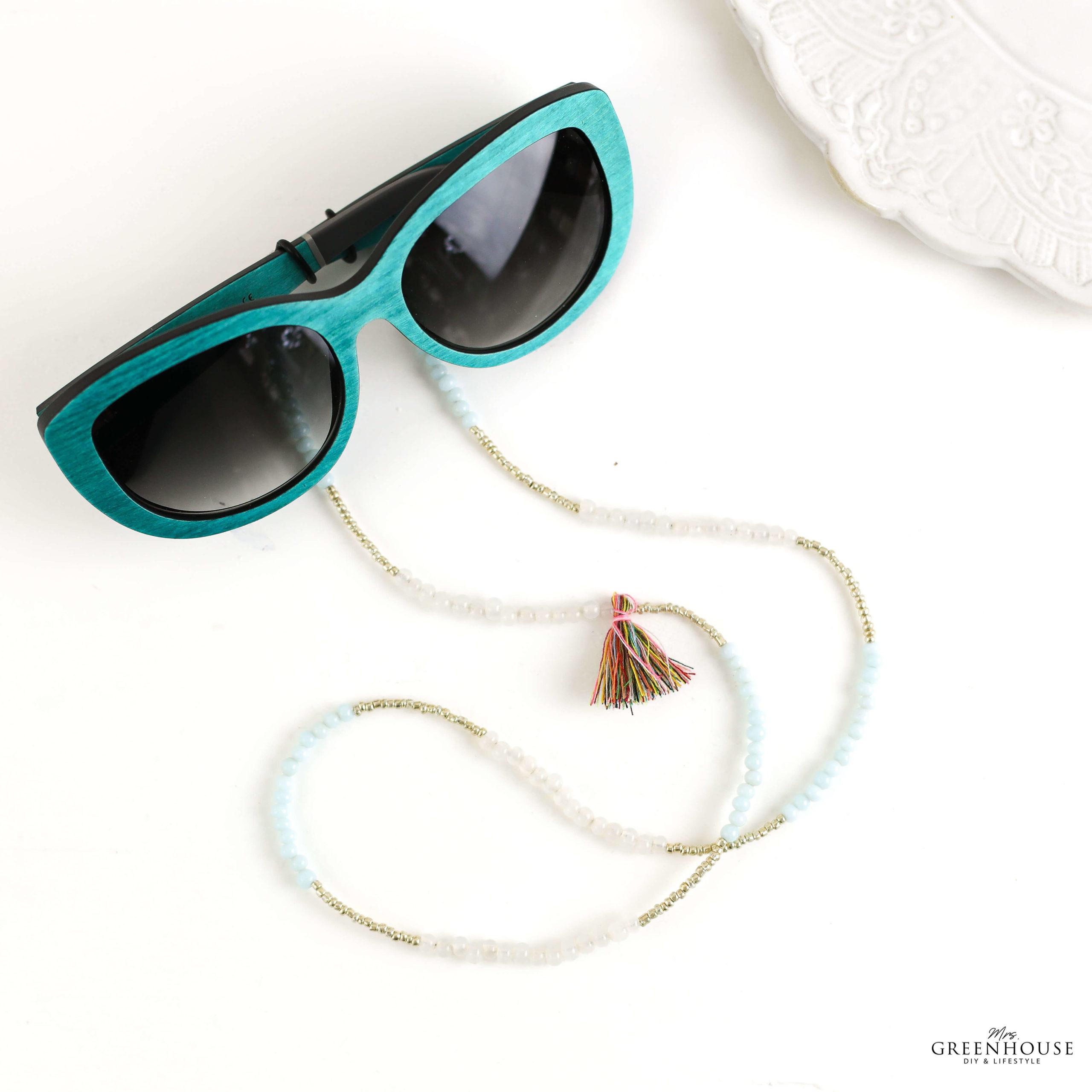 Brillenband selber machen mit Anleitung