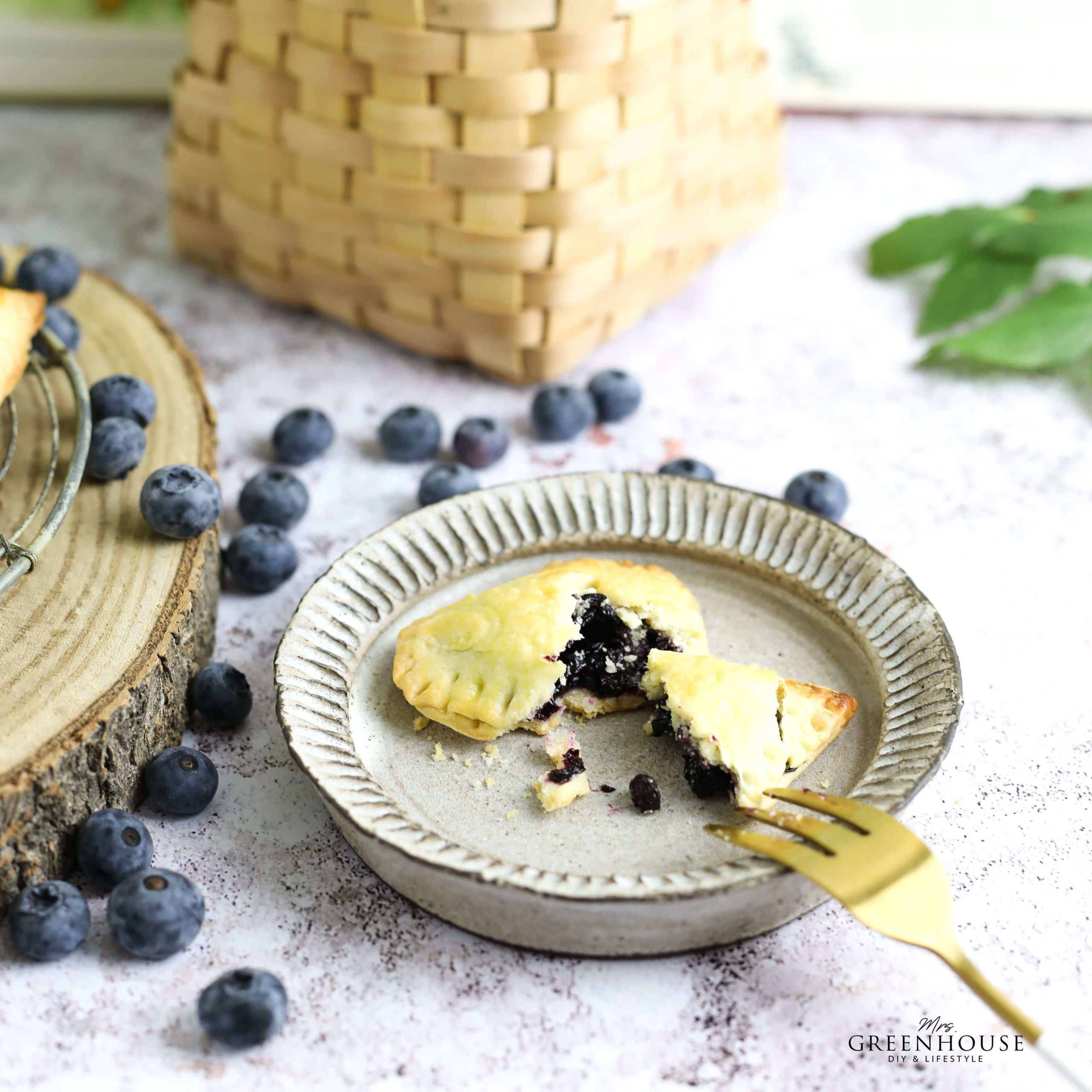 Blaubeeren Mini Pies