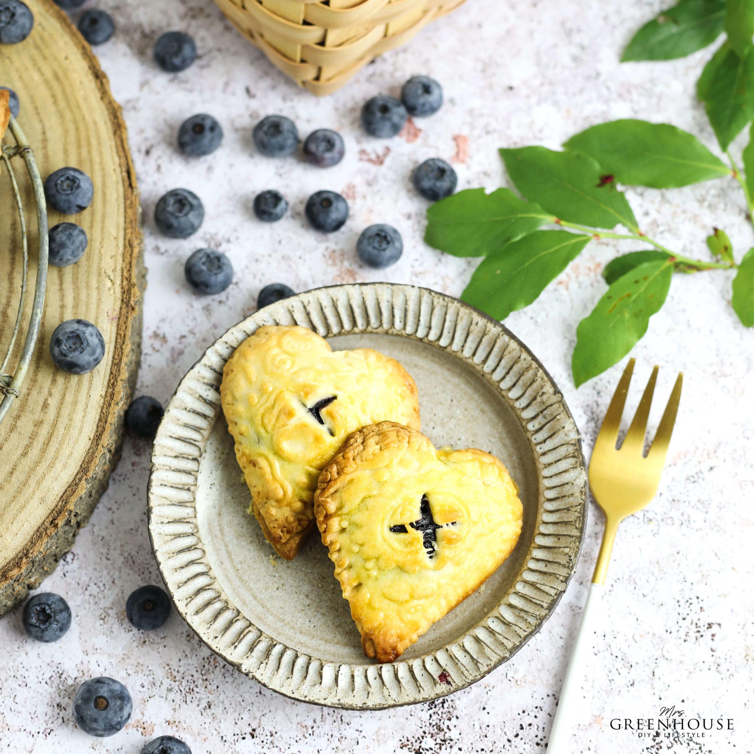 Blaubeeren Mini Pies Rezept