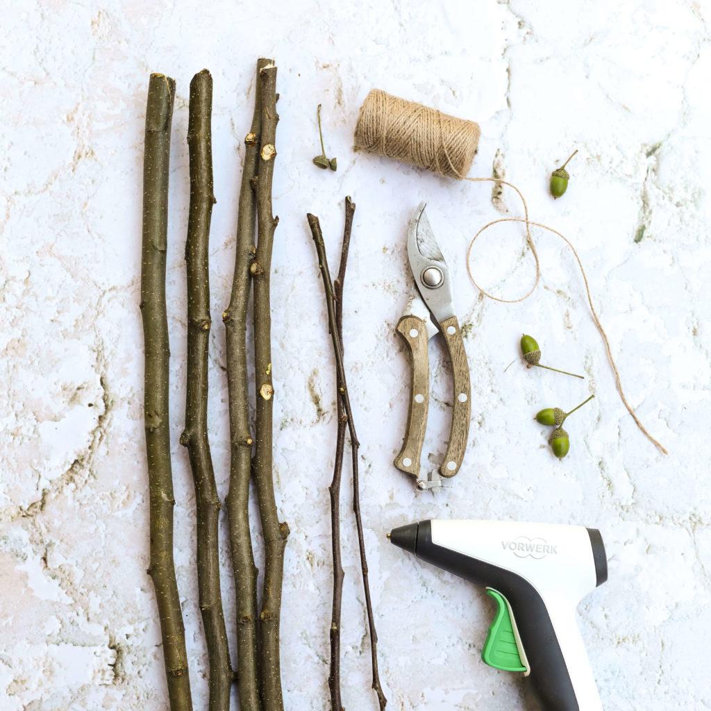 Material für Holzrahmen