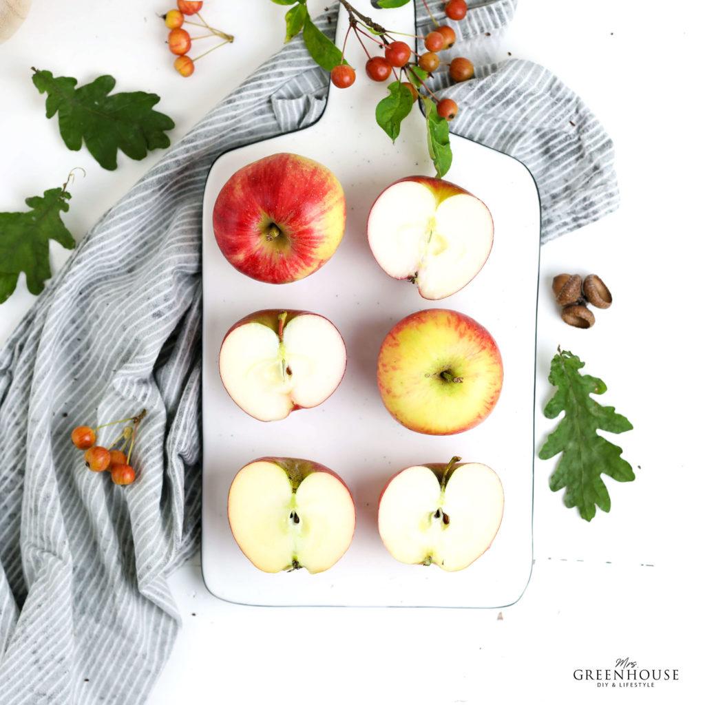 Bio Äpfel und ein Rezept für Hamburger Apfelschnitten