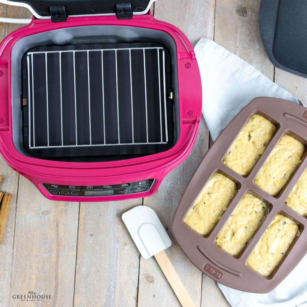 Mini Kuchen mit Kürbis und Zimt