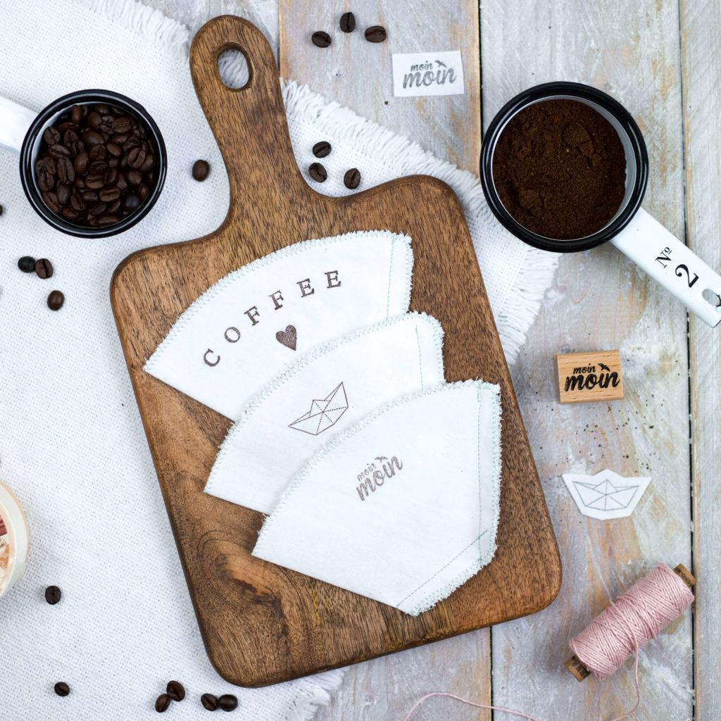 Kaffeefilter aus Stoff