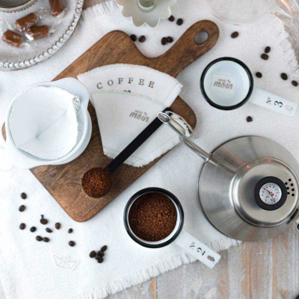 Kaffeefilter nähen