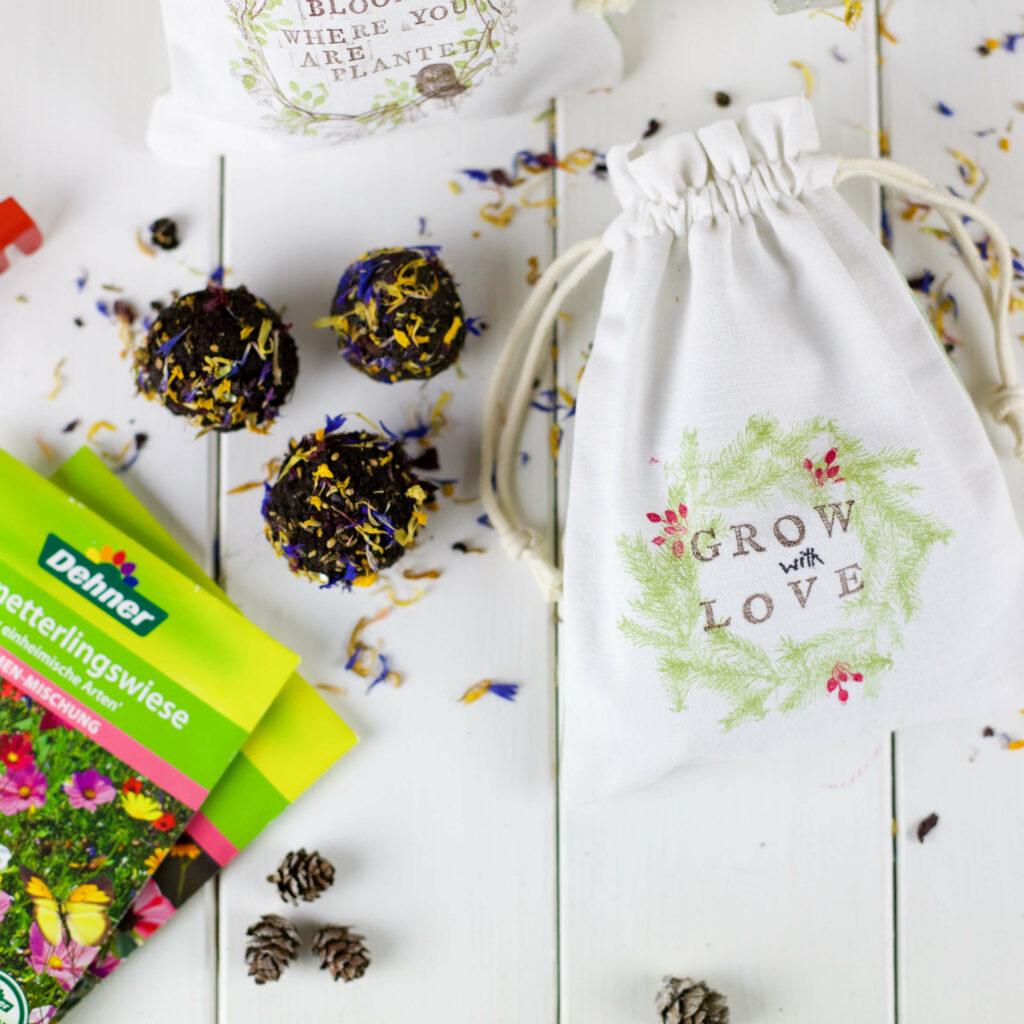 Seedbombs als Geschenkidee