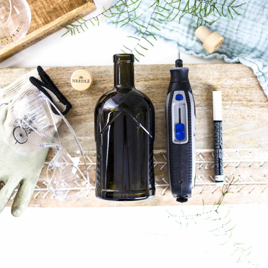 Material zum Flaschen gravieren