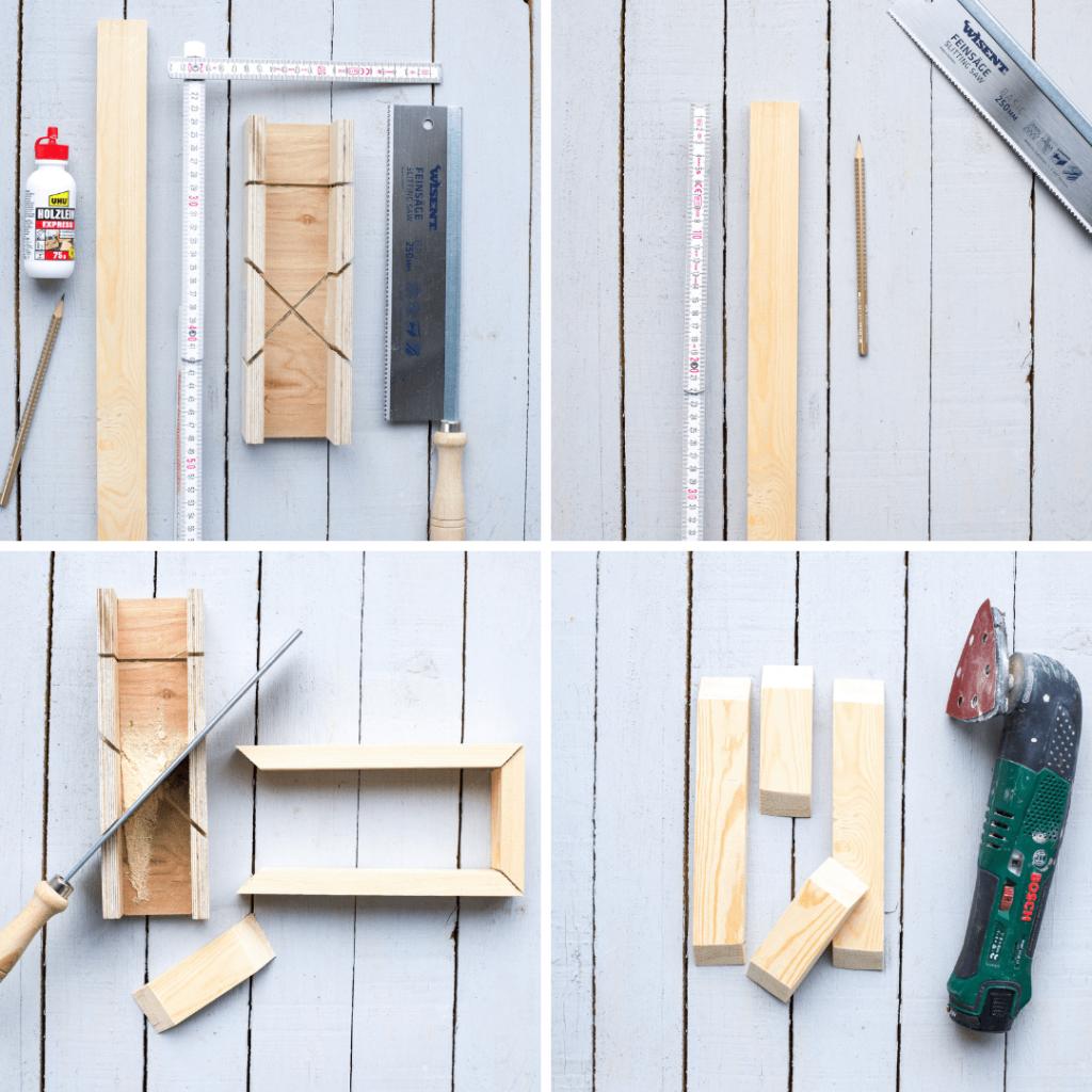 Mini Rahmen bauen