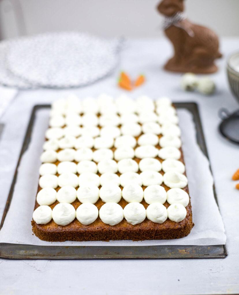 Frischkäse Topping für Rüblikuchen Rezept mrsgreenhouse