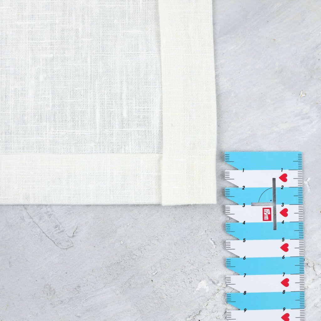 Umschlag für Briefecke umbügeln