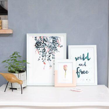 Farben bestimmen mit dem ColorReader und Bilderrahmen streichen